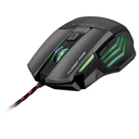 MOUSE MULTILASER GAMER METAL WAR MO207