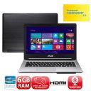 NOTEBOOK ULTRABOOK ASUS 14 S46CA-BRA-WX160H I7 6GB/24SSD/ITERA/WIN 8