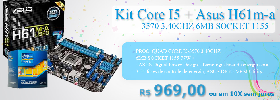 PROC. CORE I5-3570 3.40GHZ 6MB SOCKET 1155 77W