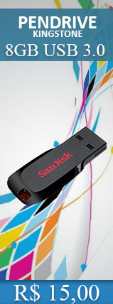 PENDRIVE 8.0GB USB SANDISK CRUZER