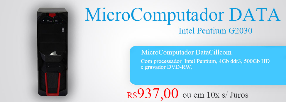 MicroComputador DATA Intel Pentium G2030