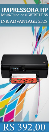IMPRESSORA HP MULTIF. WIRELESS INK ADVANTAGE 5525 (SCANER/COPIAD