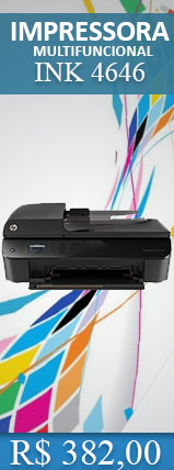 IMPRESSORA HP MULTIFUNCIONAL WIRELESS DESKJET INK 4646