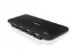 HUB 7 PORTAS USB COMTAC SLIM C/FONTE 9249