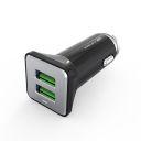 CARREGADOR VEICULAR C3TECH C/2 USB 4,2A UCV-L420BK