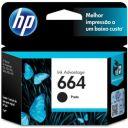 CARTUCHO HP 664 PRETO 2 ML F6V29AB