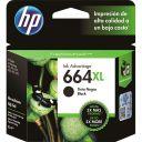 CARTUCHO HP 664XL PRETO F6V31AB 8,5 ML