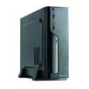 GABINETE MICRO ATX C3TECH DESKTOP SLIM  DT-100BK 2 USB 2.0/3.0 FONTE 200W C/CABO PRETO
