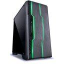 GABINETE GAMER VINIK TRON PRETO FRONTAL FITA LED 7 CORES RGB FULL WINDOW ACRILICO USB 3.0 S/FONTE