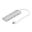 HUB USB 4 PORTAS COMTAC ALUMINIUM USB 3.0 9305