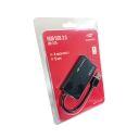 HUB USB 4 PORTAS C3TECH 3.0 HU-310BK