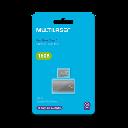 MICRO SD +LEITOR USB TIPO PENDRIVE 16GB MULTILASER  CLASSE 10MC162
