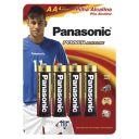 PILHAS ALCALINAS AA PANASONIC POWER 1.5V C/4 RL6XAB/4B