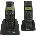 TELEFONE INTELBRAS SEM FIO COM IDENTIFICADOR + RAMAL TS40-C