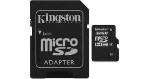 MEMORY CARD MICRO SD 32.0GB KINGSTON CLASSE 4