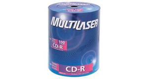 CD-R DE TUBO MULTILASER 700MB