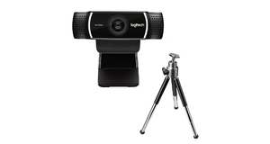 CAMERA WEBCAM LOGITECH HD C922 PRO FULL 1080P C/ TRIPÉ
