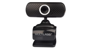 CAMERA WEBCAM MULTILASER PLUG E PLAY 480P MIC USB PRETO WC051
