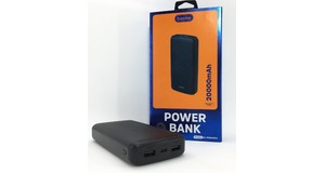 CARREGADOR PORTATIL BASIKE POWER BANK 20000 2 USB