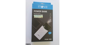 CARREGADOR PORTATIL INOVA POWER BANK 10.000 MAH USB