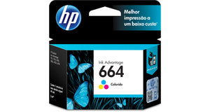CARTUCHO HP 664 COLOR 2 ML F6V28AB