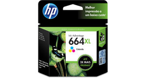CARTUCHO HP 664XL TRICOLOR 8,0 ML F6V30AB