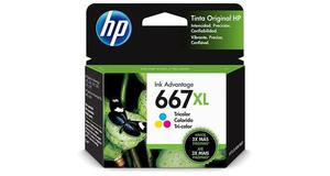 CARTUCHO HP 667XL TRICOLOR 3YM80AL
