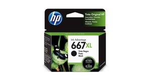 CARTUCHO HP L 667XL PRETO 3YM81A