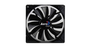 COOLER 14CM AEROCOOL DARK FORCE BLACK FAN