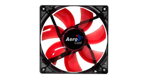 COOLER AEROCOOL LIGHTNING 12CM RED/BLUE