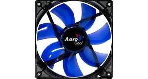 COOLER AEROCOOL LIGHTNING 14CM RED/BLUE