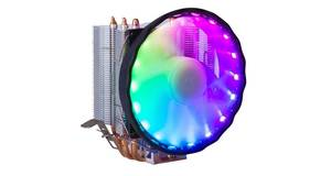 COOLER 12CM DEX P/ PROCESSADOR INTEL / AMD LED RGB E 1 FAN DX-2018
