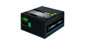 FONTE ATX 500W REAIS GAMEMAX  GM500 PFC ATIVO 80PLUS BRONZE