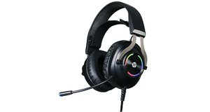HEADFONE C/MIC GAME HP 7.1 USB H360GS PRETO