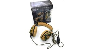 HEADFONE GAMING DEX CAMUFLADO DF-508