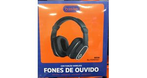HEADFONE WIRELESS BASIKE BA-FON6667