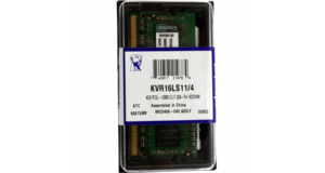 MEMORIA DDR3L 4.0GB 1600MHZ NOTEBOOK KINGSTON (1.35)