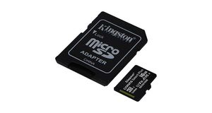 MEMORY CARD KINGTON 16.0GB MICRO SDHC 100 MBPS CANVAS SELECT PLUS