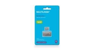 MEMORY CARD MICRO SD +LEITOR USB TIPO PENDRIVE 16.0GB MULTILASER  CLASSE 10 MC162