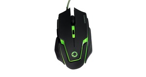 MOUSE GAMER GAMEMAX MG319 USB PRETO/VERDE