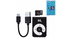 MP3 PLAYER MULTILASER KIT MAH MICRO SD 8GB E CABO MICRO USB MC300