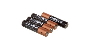 PILHAS ALCALINAS DURACELL AAA C/4