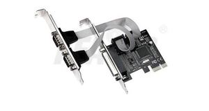 PLACA PCI EXPRES MULTISERIAL DEX (2 SERIAL+1 PARALELA) DP-03