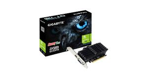 PLACA DE VIDEO GT 710 2GB PCI-EXPRESS DDR5 SILENT LOW PROFILE PCIE GIGABYTE
