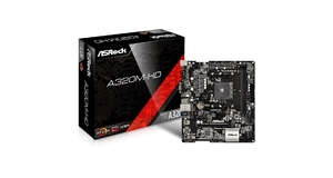 PLACA MAE ASROCK A320M-HD ( AM4/DDR4/PCI/6 USB 3.1)(VENDER C/ATHLON E COLOCAR PL. VIDEO)