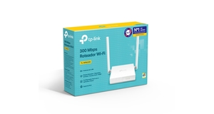 ROTEADOR TP-LINK TL-WR829N WIRELESS 300MBPS IPV6 2 PORTAS 10/100MBPS 2 ANT FIXAS 5DBI