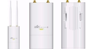 WIRELESS A P UBIQUITI UNIFI UAP-OUTDOOR-5 (EXTERNO) 5.8GHZ MIMO 300MBPS